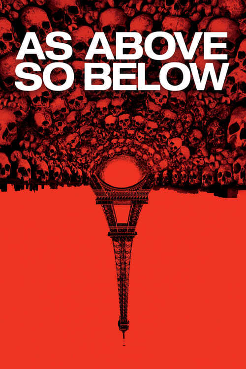 movie cover - As Above, So Below