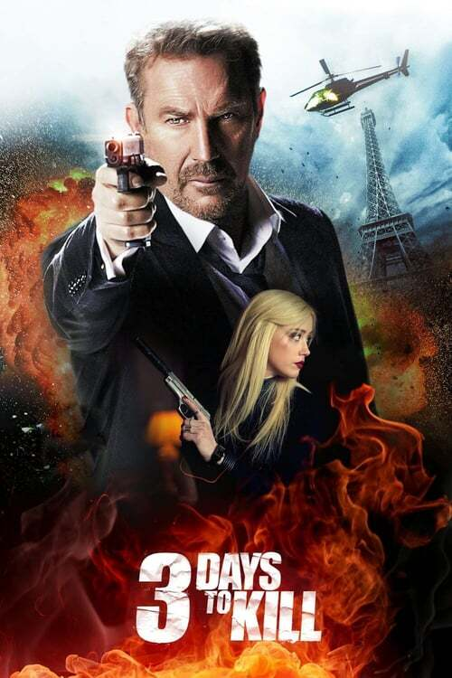 movie cover - 3 Days To Kill