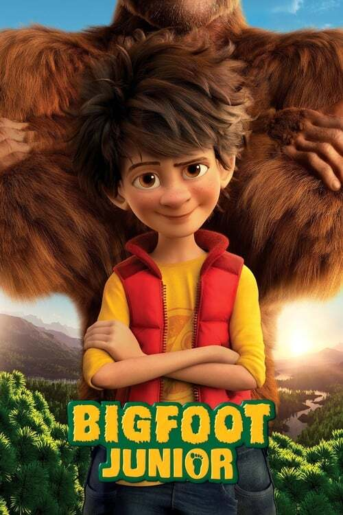movie cover - Bigfoot Junior