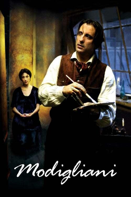 movie cover - Modigliani