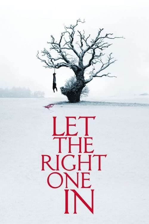 movie cover - Let The Right One In