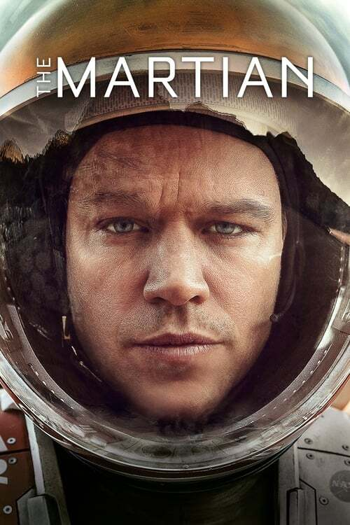 movie cover - The Martian