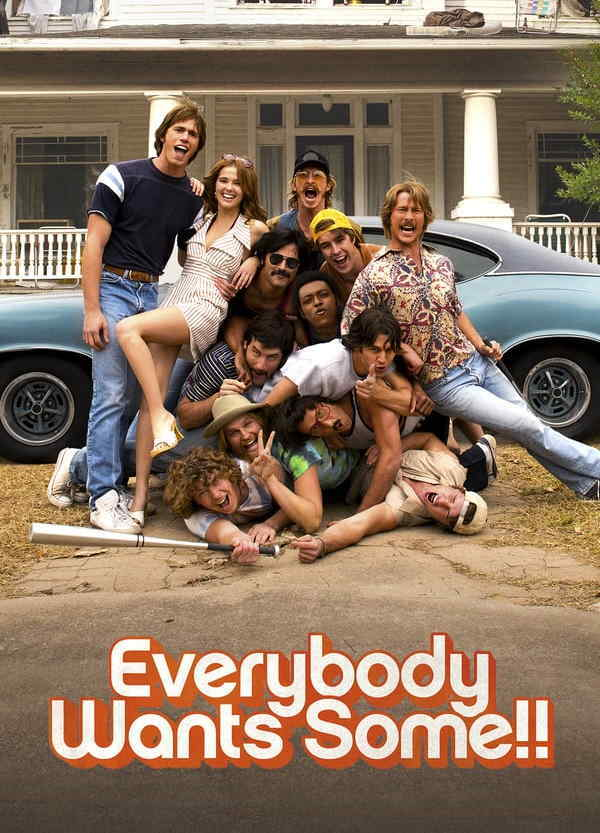movie cover - Everybody Wants Some!!