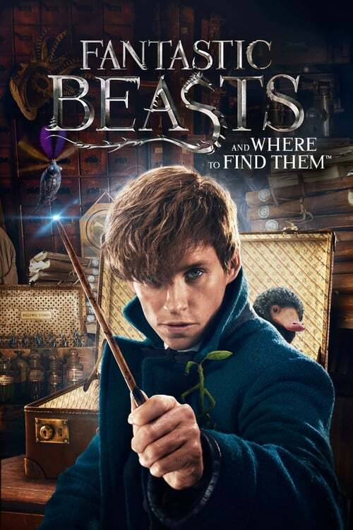 movie cover - Fantastic Beasts And Where To Find Them