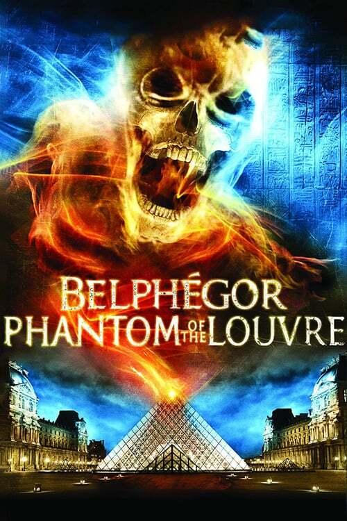 movie cover - Belphégor
