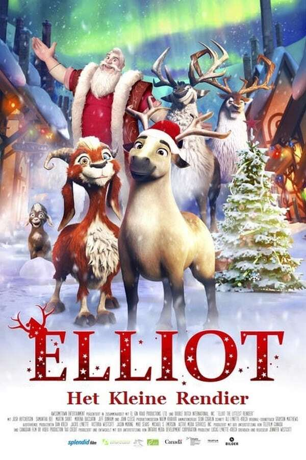 movie cover - Elliot: Het Kleine Rendier