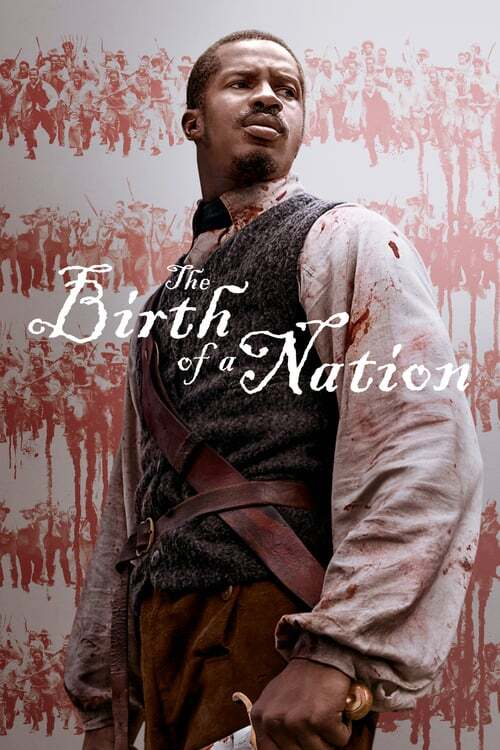 movie cover - The Birth Of A Nation