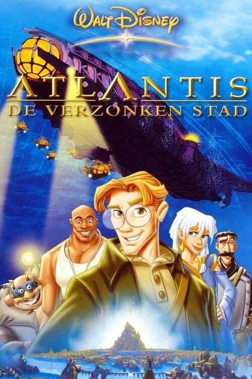 movie cover - Atlantis - De Verzonken Stad