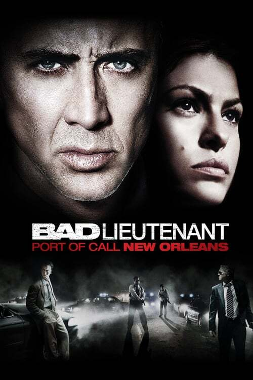 movie cover - Bad Lieutenant: Port Of Call New Orleans