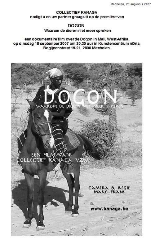 movie cover - Dogon