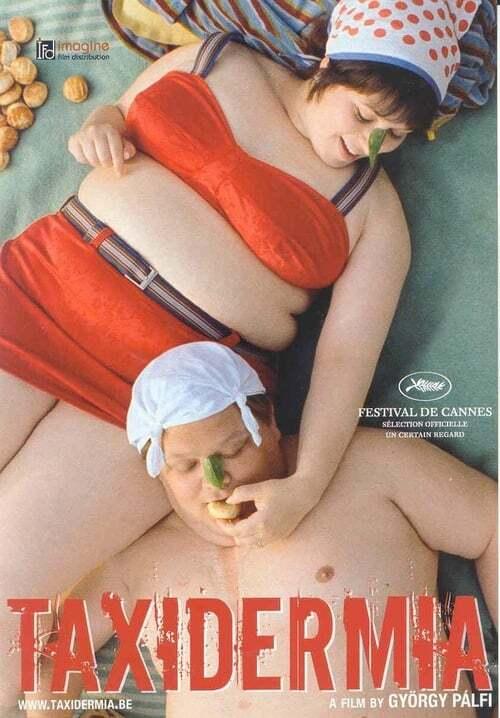 movie cover - Taxidermia