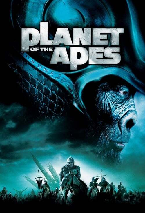 movie cover - Planet Of The Apes