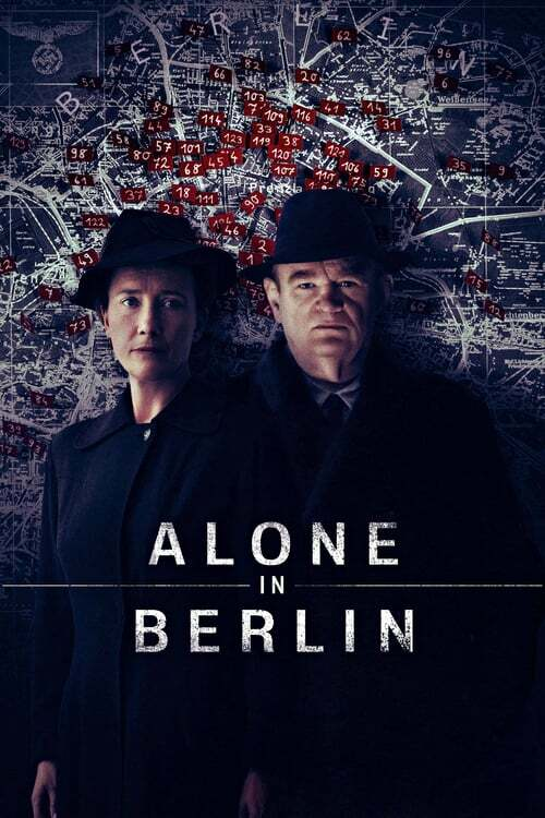 movie cover - Alone In Berlin
