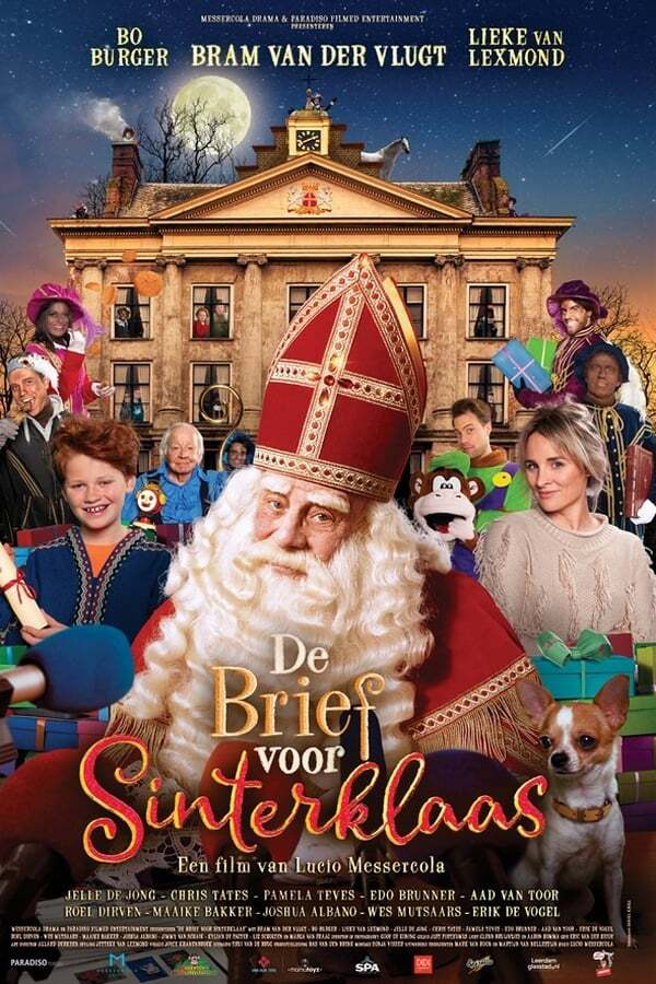 movie cover - De Brief Voor Sinterklaas