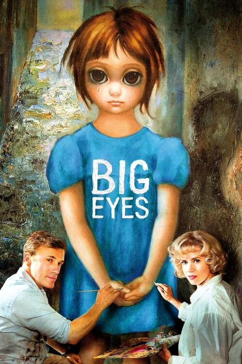 movie cover - Big Eyes