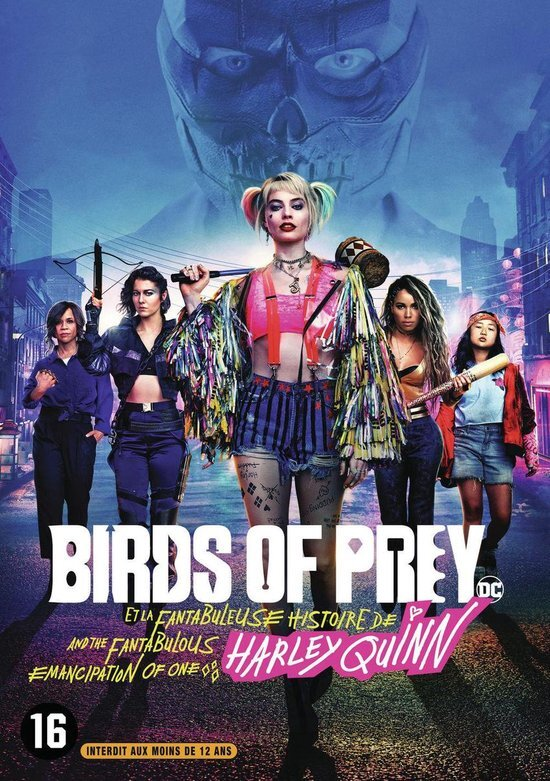 movie cover - Birds of Prey