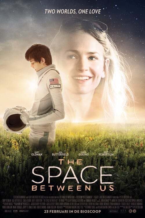 movie cover - The Space Between Us