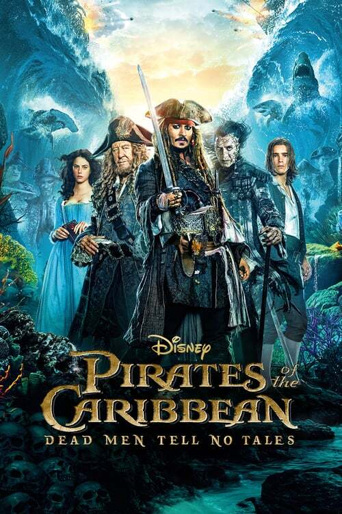 movie cover - Pirates Of The Caribbean: Salazar