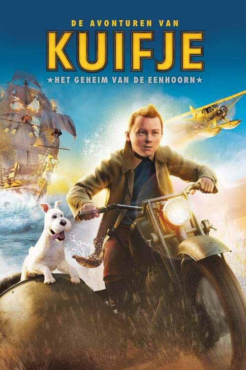 movie cover - De Avonturen Van Kuifje