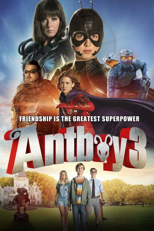 movie cover - Antboy 3