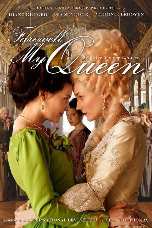 movie cover - Les adieux à la reine