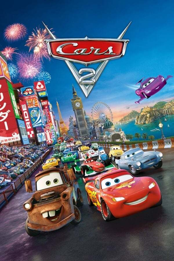 movie cover - Cars 2