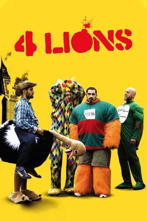 movie cover - Four Lions