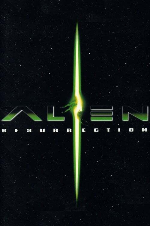 movie cover - Alien: Resurrection