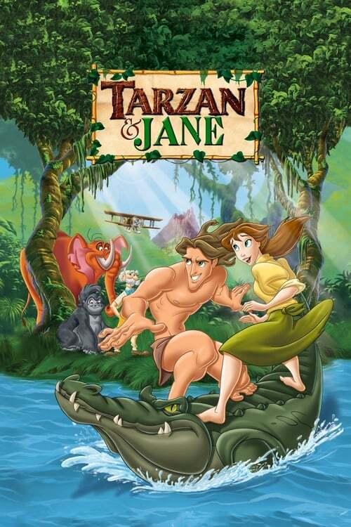 movie cover - Tarzan And Jane