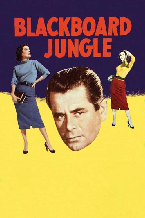movie cover - Blackboard Jungle