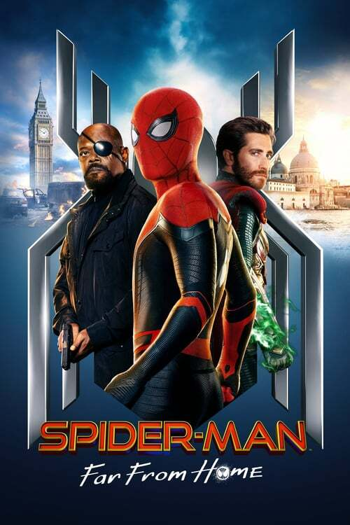 movie cover - Spider-Man: Far From Home