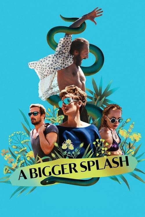movie cover - A Bigger Splash