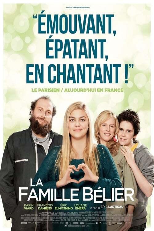 movie cover - La Famille Bélier