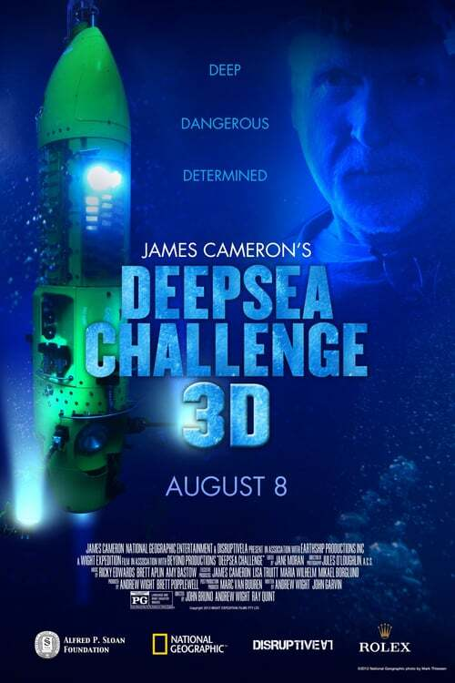 movie cover - Deepsea Challenge