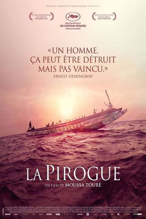 movie cover - La Pirogue