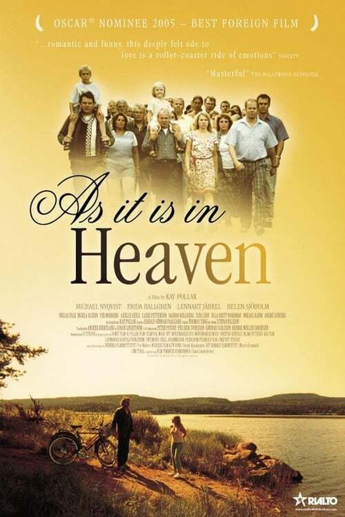 movie cover - As It Is In Heaven