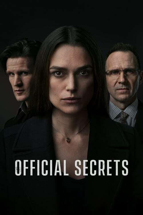 movie cover - Official Secrets