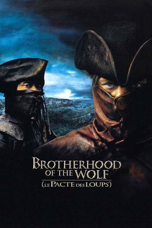 movie cover - The Brotherhood Of The Wolf
