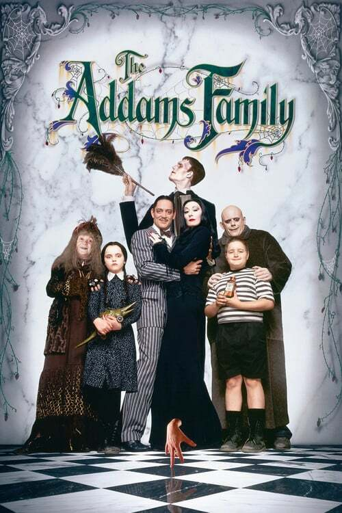 movie cover - The Addams Family