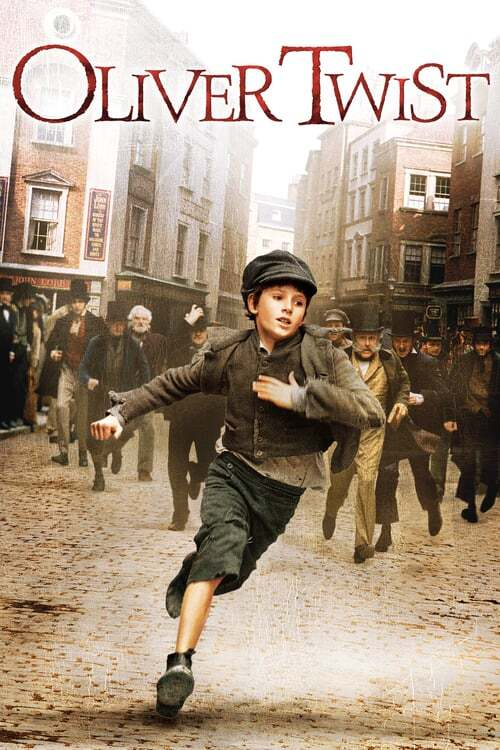 movie cover - Oliver Twist