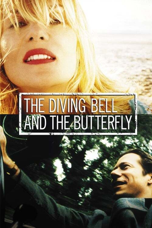 movie cover - The Diving Bell And The Butterfly