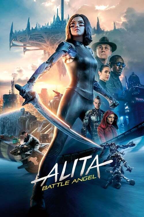 movie cover - Alita: Battle Angel