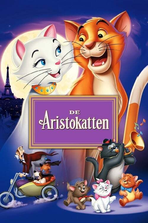 movie cover - De Aristokatten