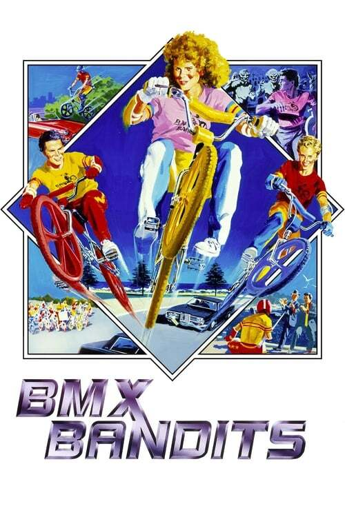 movie cover - Bmx Bandits