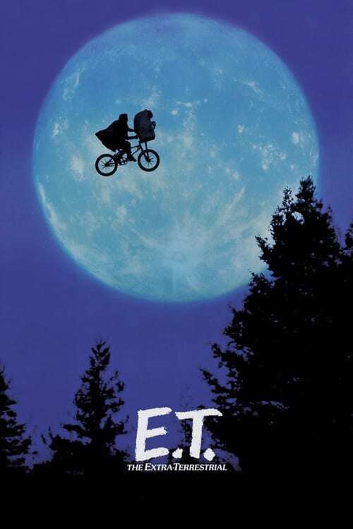 movie cover - E.T. The Extra-Terrestrial