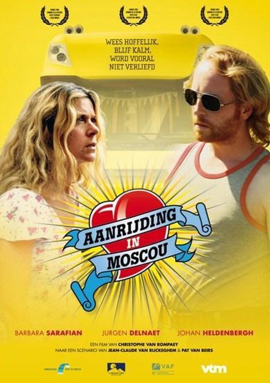 movie cover - Aanrijding In Moscou