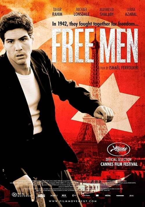 movie cover - Les Hommes Libres