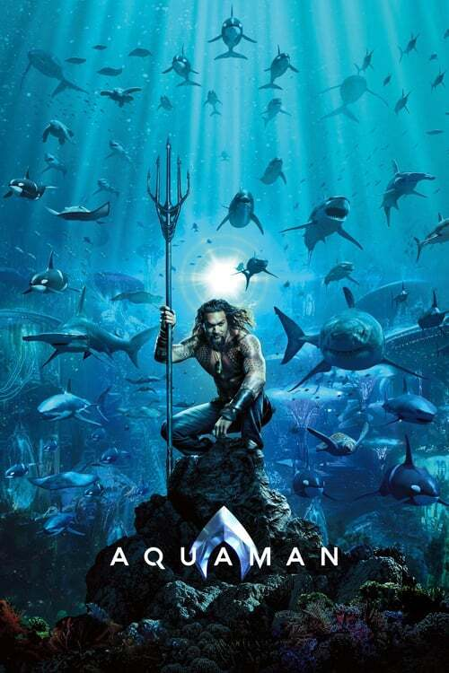 movie cover - Aquaman