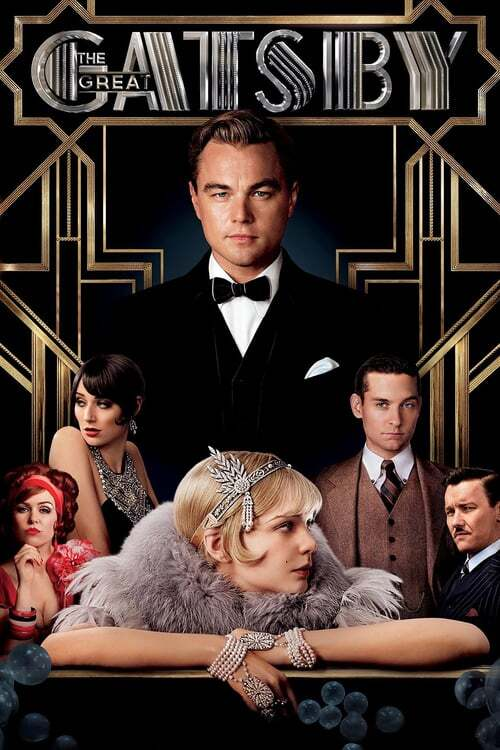 movie cover - The Great Gatsby