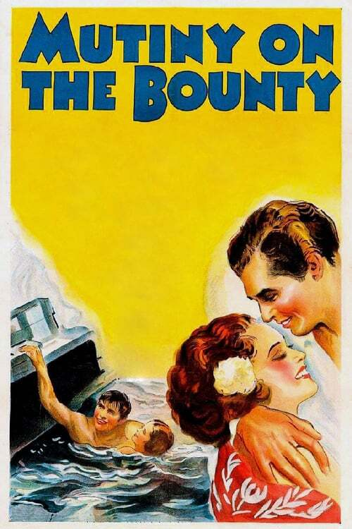 movie cover - Mutiny On The Bounty